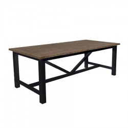 Table rectangulaire 220 cm